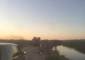 ETSN: Qızılağac milli parkında yanğın söndürülüb - YENİLƏNİB