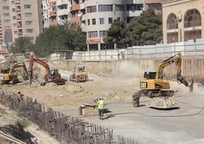 В Баку строится новая станция метро