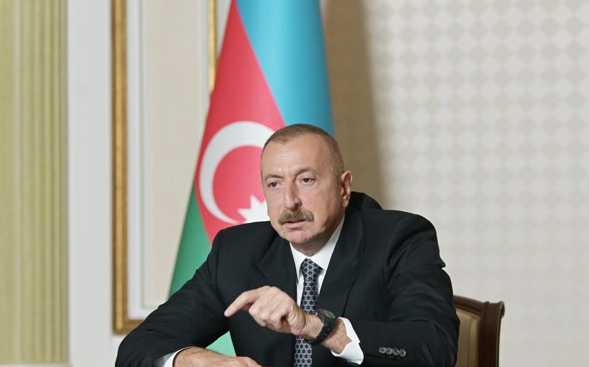 Prezident: Bu gün Qarabağ münaqişəsi ilə bağlı dünyada tam geniş təsəvvür var