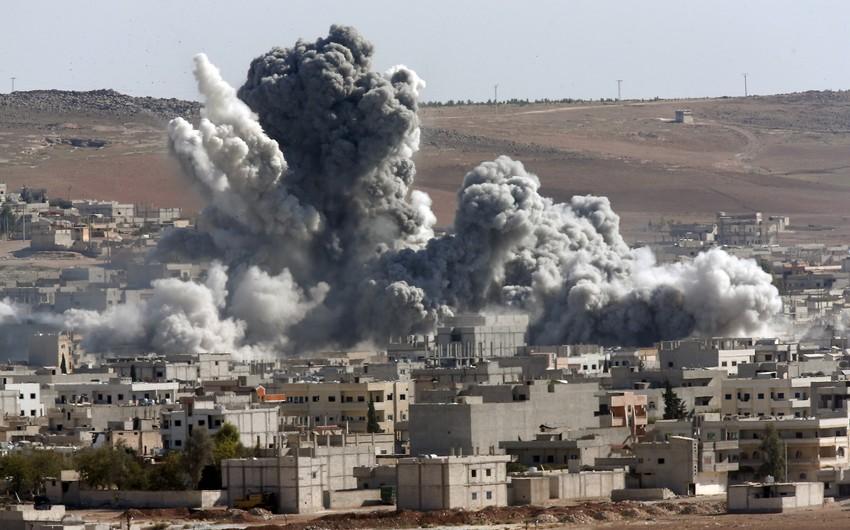 Rusiya aviasiyası sutka ərzində Palmirada 80 terrorçunu məhv edib