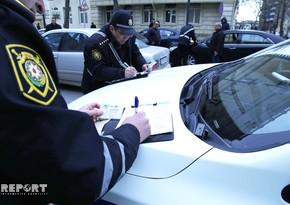 Yol polisi Ağdaşda reyd keçirib