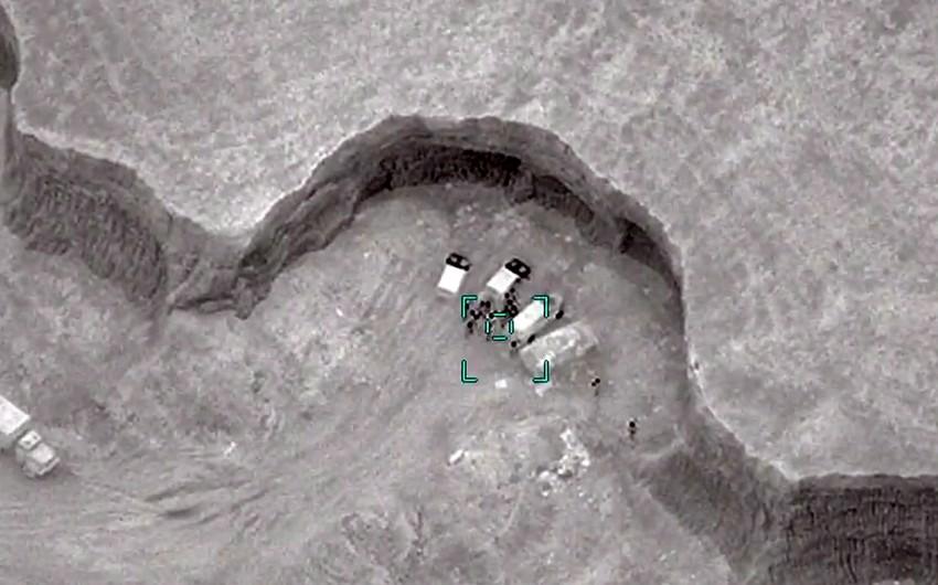 Düşmənin artilleriya batareyası məhv edilib -