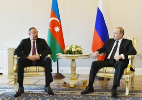 President Aliyev congratulates Putin on successful constitutional reform vote