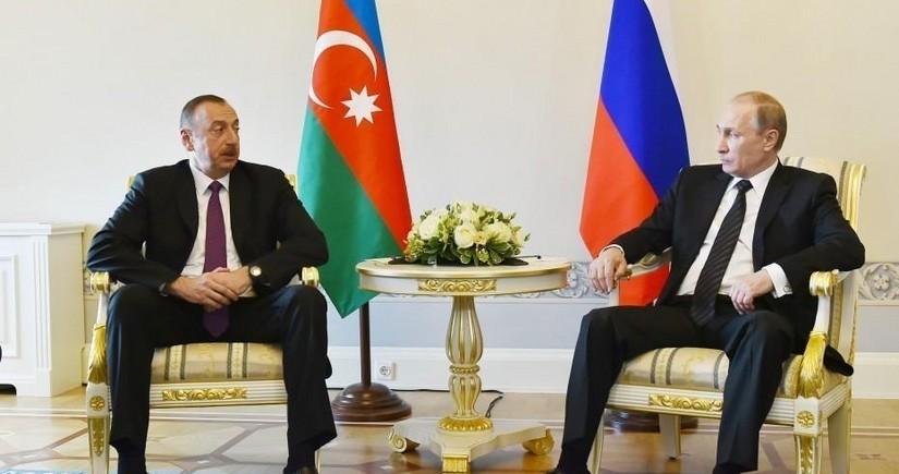 President Aliyev congratulates Putin on successful constitutional reform vote