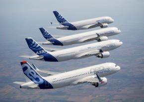 """""""Airbus"""" ötən ilin nəticələrini açıqladı"""