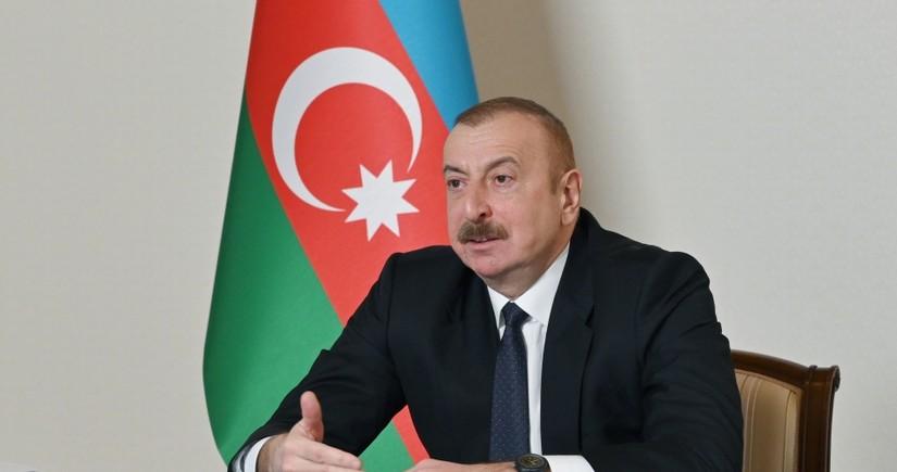 Ильхам Алиев: Мы отметим 30-летие независимости, как народ, государство, одержавшее Победу
