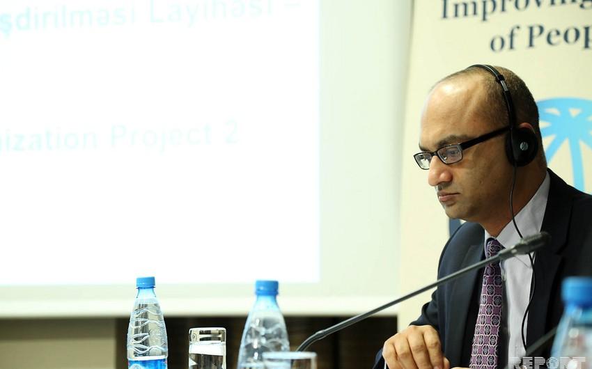 Навид Хасан Нагви: Всемирный банк реализует в Азербайджане 10 активных проектов