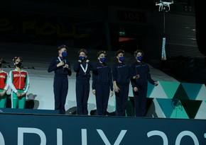 На Кубке мира в Баку медали вручали дроны
