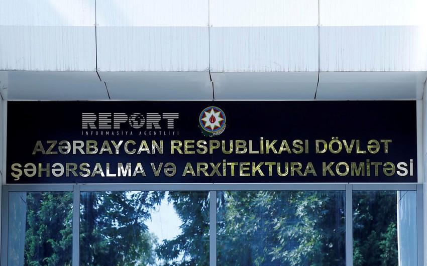 Dövlət Şəhərsalma və Arxitektura Komitəsi kotirovka sorğusu keçirir