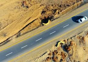 Samuxda 40  km-lik yerli əhəmiyyətli yol yenidən qurulub
