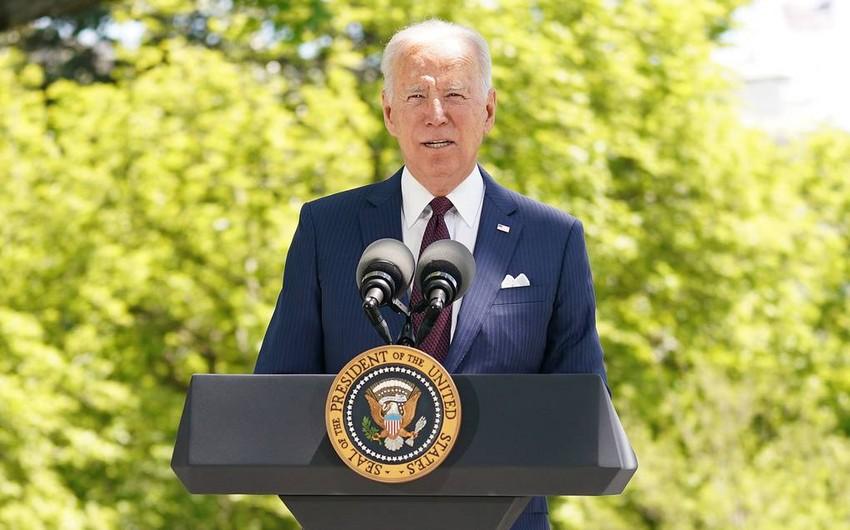 Biden says how to regulate Israeli-Palestinian conflict