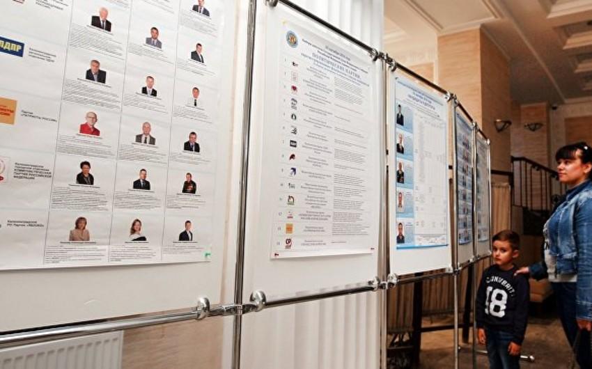 Россияне, проживающие в Азербайджане, голосуют на выборах в Госдуму