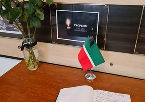 Book of Sorrow opened at Permanent Mission of Russia's Tatarstan in Azerbaijan