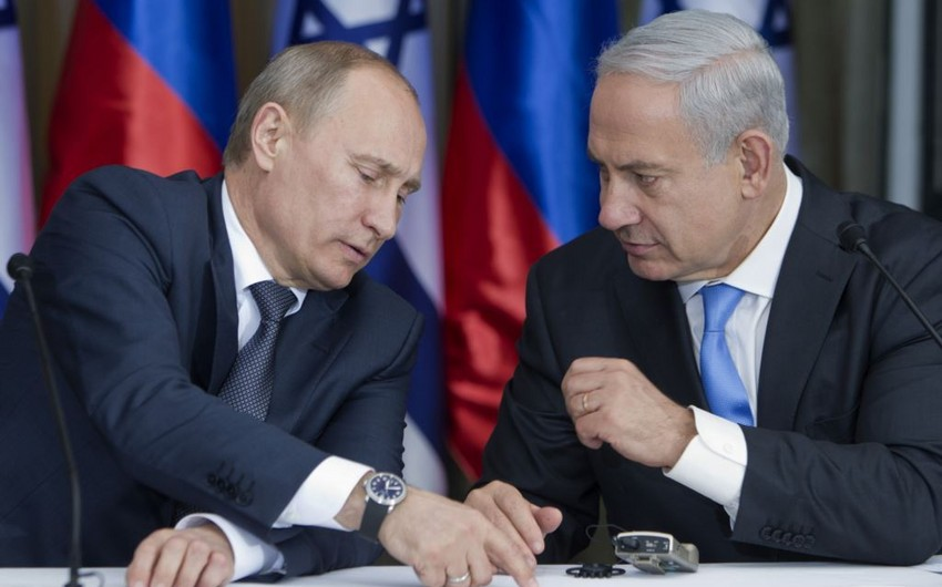 Netanyahu Putinlə telefon danışığının təfərrüatlarını açıqlayıb