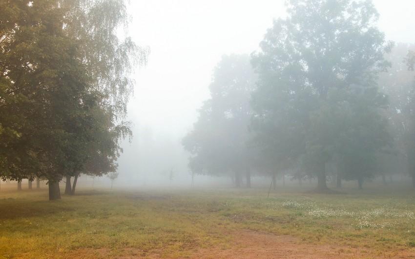 Sabaha olan hava proqnozu açıqlandı