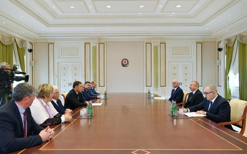 Prezident İlham Əliyev Rusiyanın Sverdlovsk vilayətinin qubernatorunu qəbul edib - YENİLƏNİB