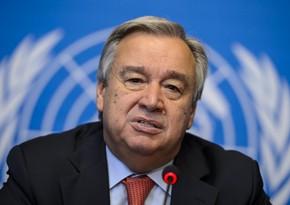 Antonio Quterreş dünya liderlərinə müraciət edib