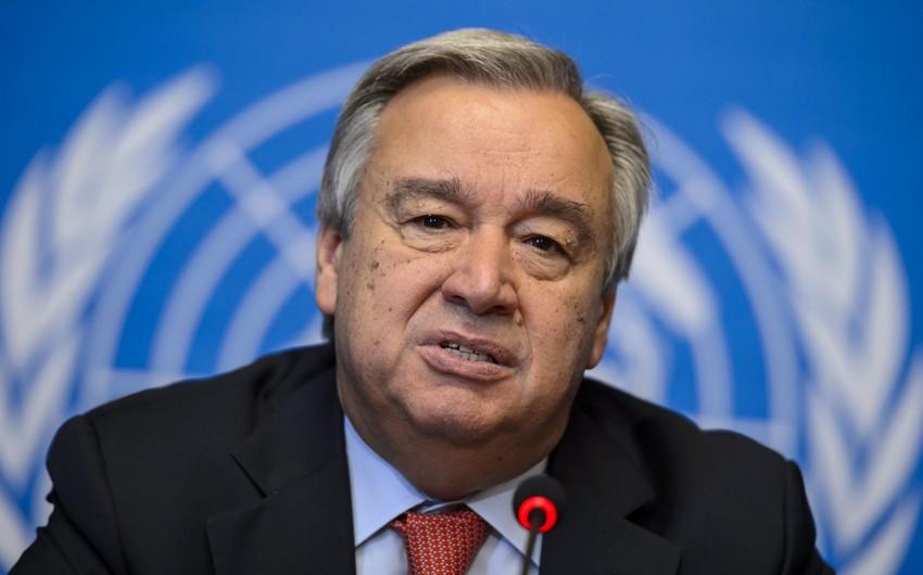 UN chief makes phone call to Ilham Aliyev