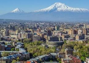 Yerevanda etirazçılar Soros Fondunun ofisini talan ediblər