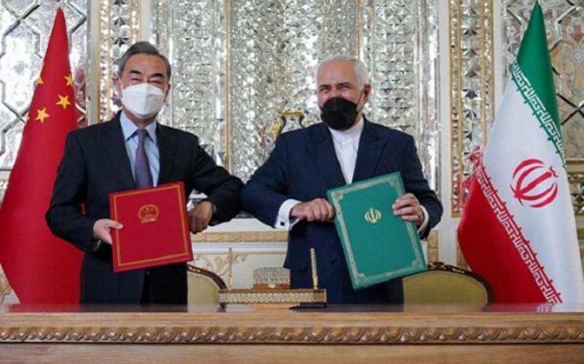 İranla Çin arasında yeni əməkdaşlıq müqaviləsi imzalanıb