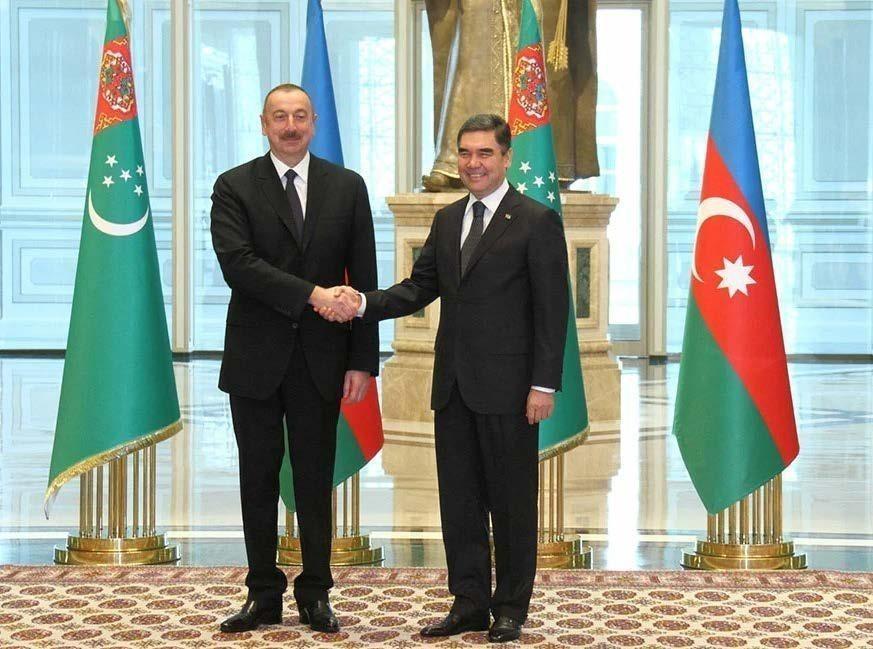 Гурбангулы Бердымухамедов направил поздравительное письмо Ильхаму Алиеву
