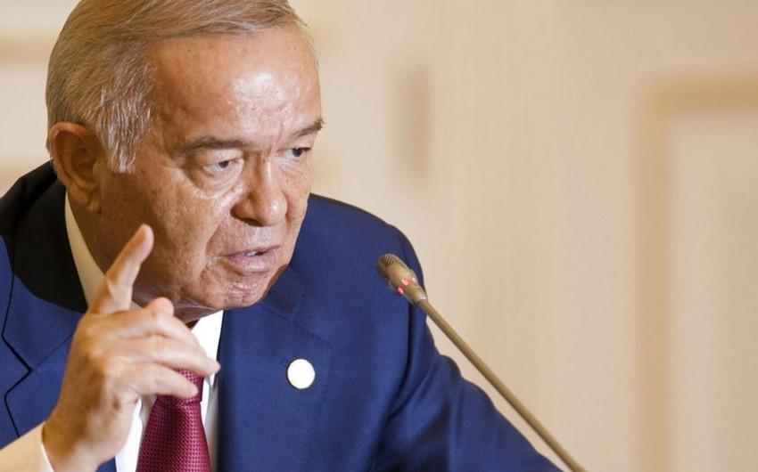 Özbəkistan prezidenti vəfat edib