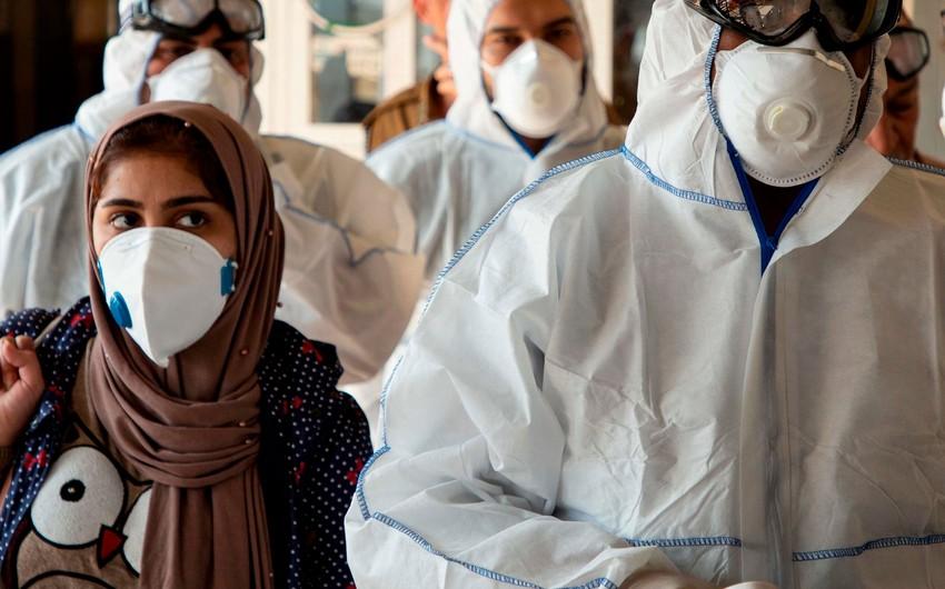 İranda son sutkada rekord sayda insan koronavirusdan ölüb