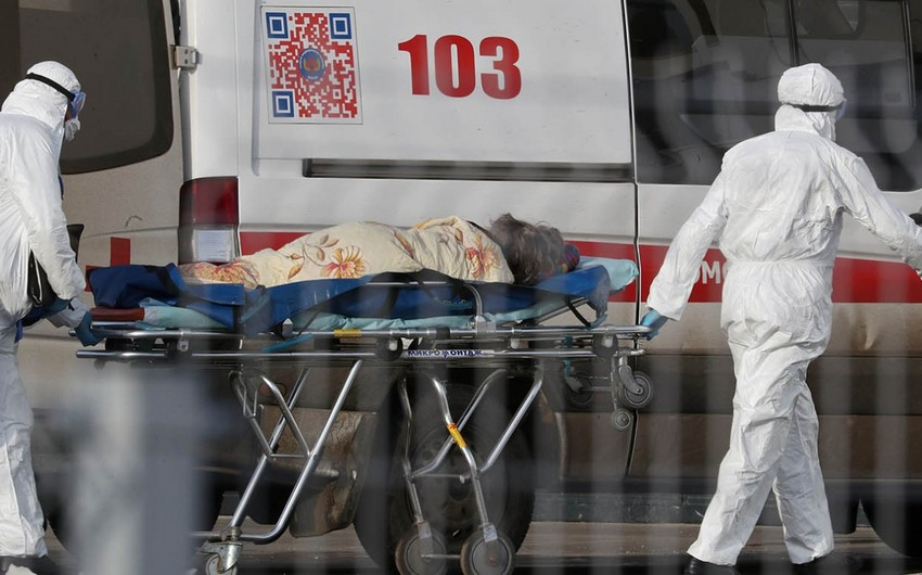 Rusiyada ötən sutka 92 nəfər pandemiyanın qurbanı oldu