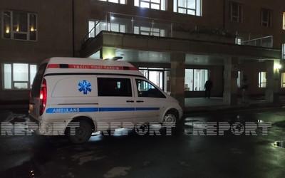 Пострадавшая в ДТП семья доставлена из Шемахи в Баку