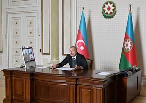 """İlham Əliyev: """"Bu il rekord sayda məcburi köçkün ailəsi evlə təmin olunacaq"""""""