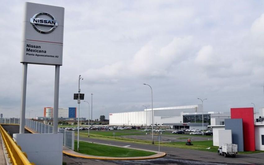 """""""Nissan"""" çip çatışmazlığına görə Meksikada istehsalı dayandıracaq"""