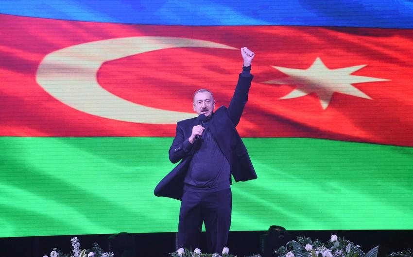 Prezident İlham Əliyev: Mən həmişə Azərbaycan xalqının dəstəyinə arxalanmışam