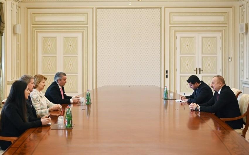 President receives UK Prime Minister's Trade Envoy