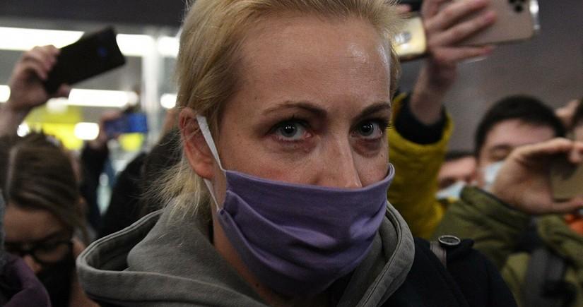 Задержанную Юлию Навальную отпустили из полиции