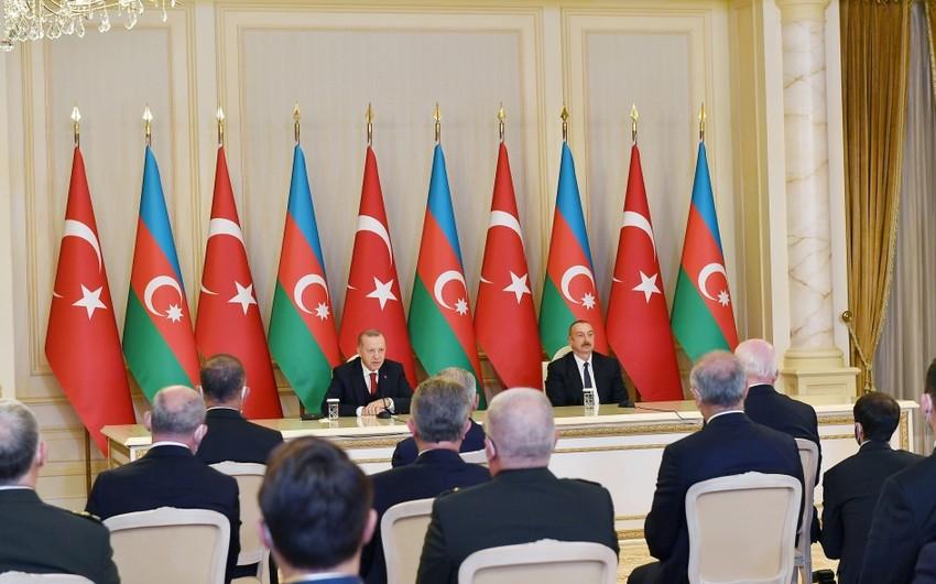 İlham Əliyev: Türkiyənin gücü bizim gücümüzü artırır