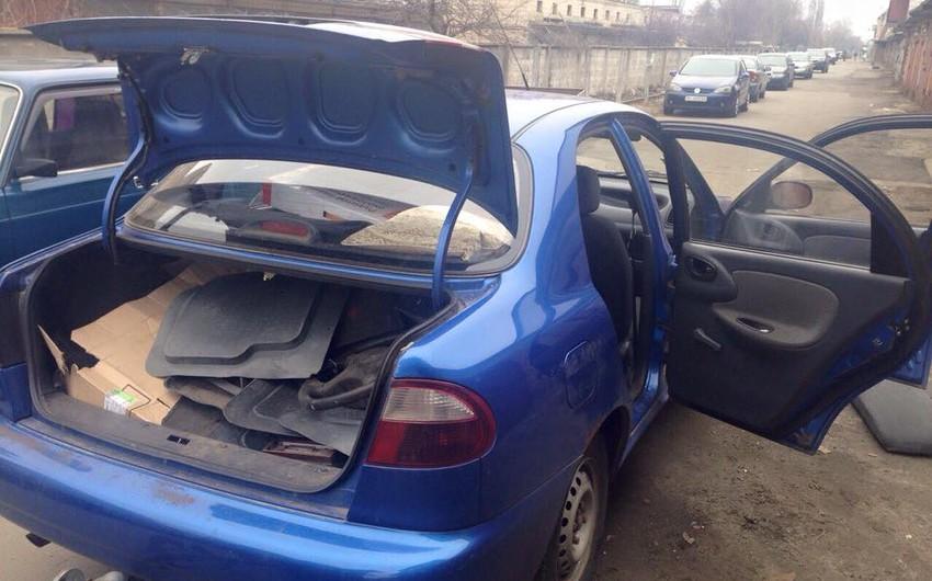 Kiyevdə avtomobil oğurluğu ilə məşğul olan 4 azərbaycanlı saxlanılıb