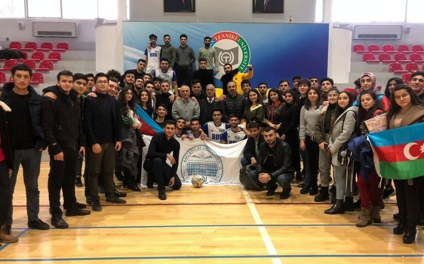 BDU-nun futzal komandası Azərbaycan çempionu olub