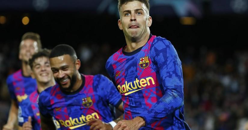 Лига Чемпионов: Барселона одержала первую победу, Вольфсбург проиграл