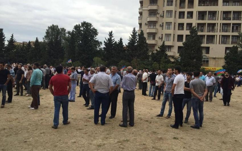 Polis: Mitinqdə 1500-ə yaxın insan iştirak edib - YENİLƏNİB