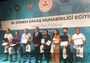 Azerbaijani journalists awarded over training on Military Journalism in Ankara