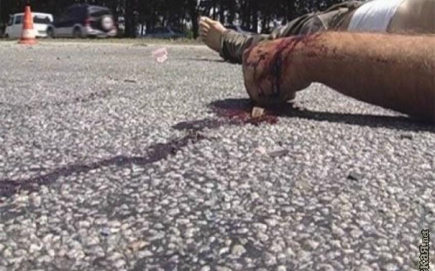 Bakıda polis əməkdaşının vurulması ilə nəticələnən yol qəzası baş verib