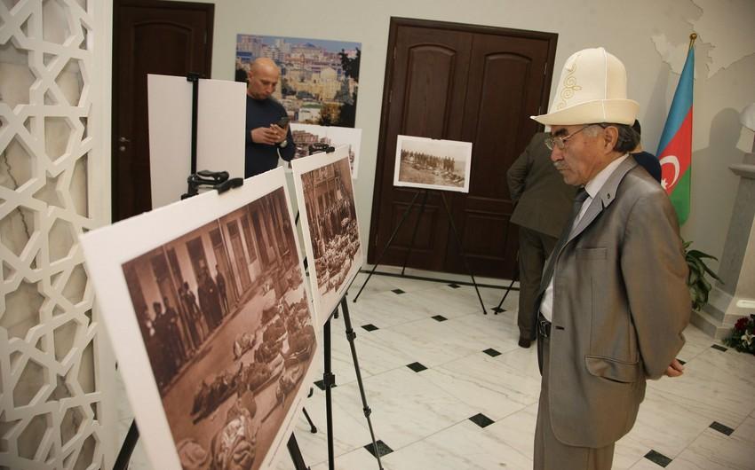 """Astanada """"Bir də heç zaman: Aşarşılık, Holokost, Komboca, Xocalı, Ruanda"""" adlı fotosərgi keçirilib"""