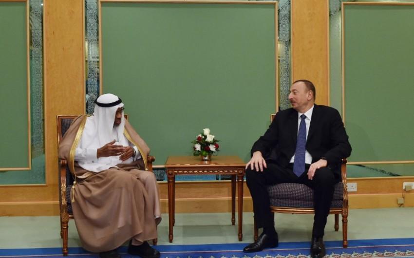 Azərbaycan Prezidenti Ciddədə İslam İnkişaf Bankı Qrupunun prezidenti ilə görüşüb