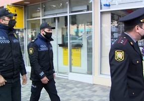 Polis Sabunçuda karantinipozan şəxslərə qarşı reyd keçirib
