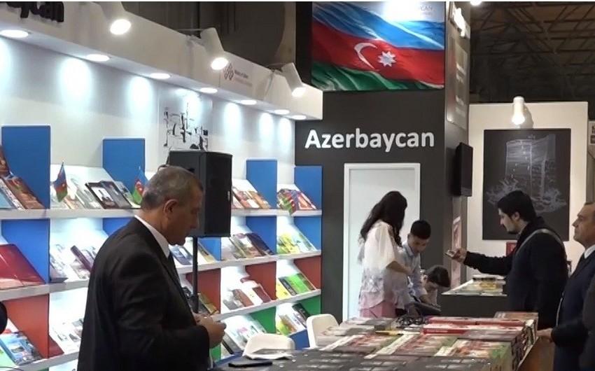 Azərbaycan İstanbuldakı Beynəlxalq Kitab Sərgisində təmsil edilib - FOTO - VİDEO