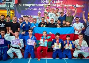 Odessadakı diasporumuz beynəlxalq yarışda komandamıza dəstək göstərib