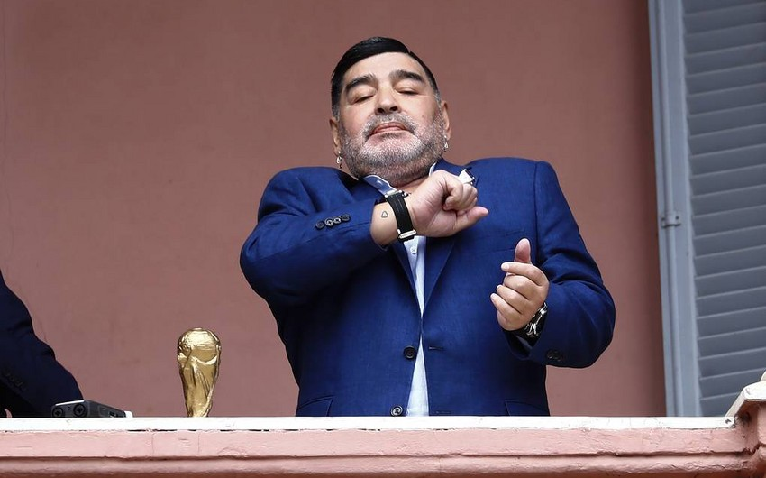 Dieqo Maradona Venesuela yığmasının təklifini rədd edib