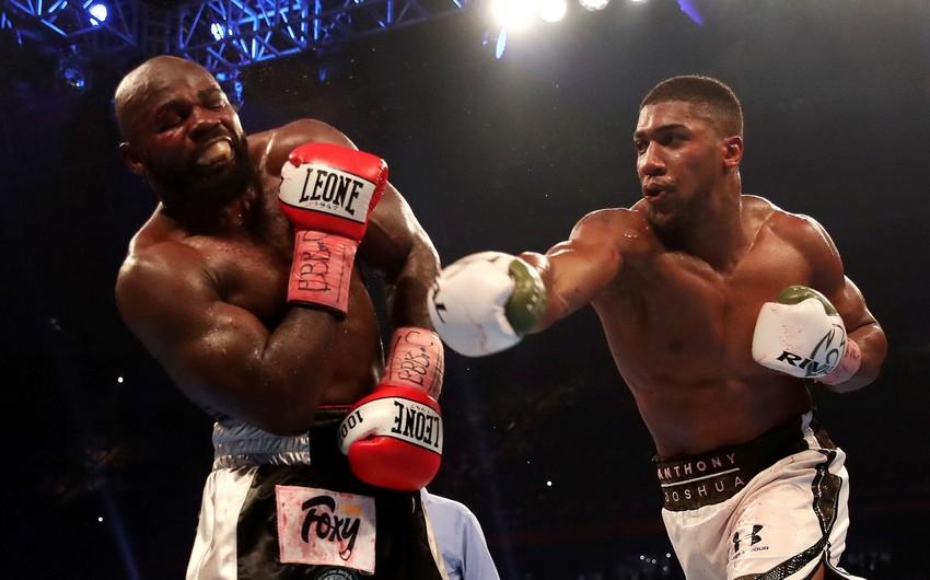 Entoni Coşua boks üzrə superağır çəkidə dünya çempionu titulunu qoruyub