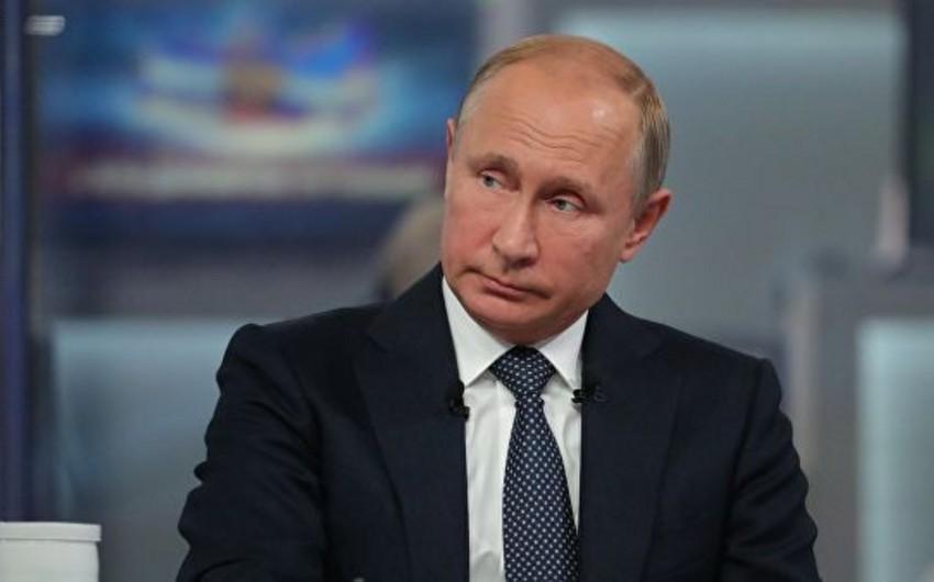 Vladimir Putin Ukrayna prezidentinin görüşlə bağlı təklifinə münasibət bildirib