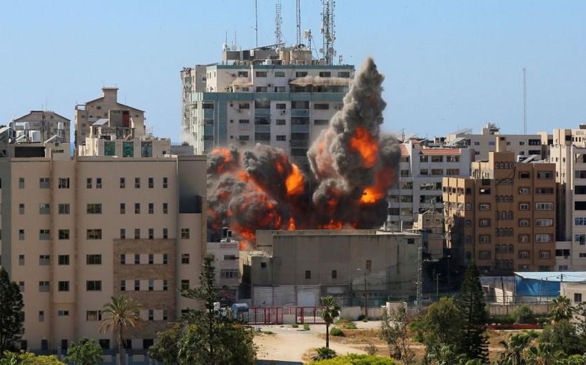 İsrail HƏMAS komandirlərinin evlərinə zərbələr endirdi